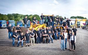 Mitarbeiterteam Benker Transporte